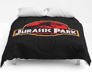 Jurassic Park Logo Comforter