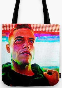 Elliot Alderson Tote Bag