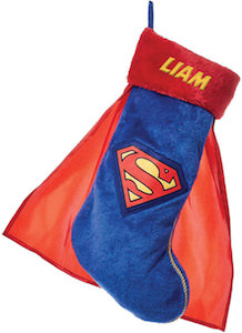 Personalized Superman Stocking