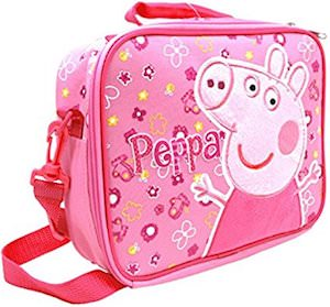 Pink Peppa Pig Lunch Box