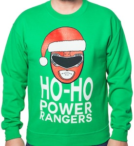 Power Rangers Christmas Sweater
