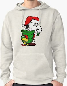 Snoopy And Woodstock Christmas Hoodie