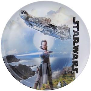 Star Wars Last Jedi Dinner Plate