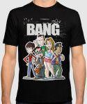The Big Bang Theory Cast Cartoon T-Shirt