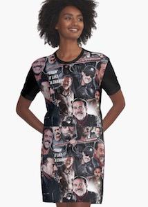 The Walking Dead Negan T-Shirt Dress