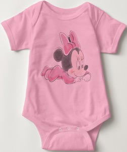 Baby Minnie Mouse Baby Bodysuit