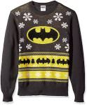 Batman Black and Yellow Christmas Sweater