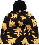 Black Pikachu Beanie Hat