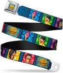Bob's Burgers Stained Glass Belt