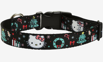 Hello Kitty Dog Collar For The Holidays