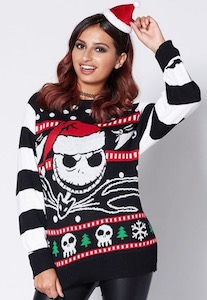 Unisex Jack Skellington Christmas Sweater