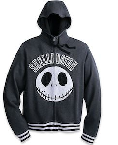 Jack Skellington Zip Up Hoodie