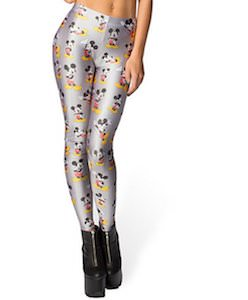 Silver Mickey Mouse Leggings