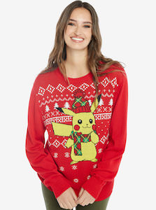 Pokemon Pikachu Christmas Sweater