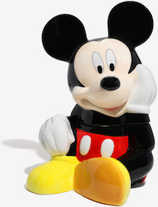 Sitting Mickey Mouse Cookie Jar