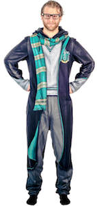 Harry Potter Slytherin Onesie Pajama