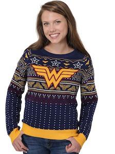 DC Comics Wonder Woman Christmas Sweater