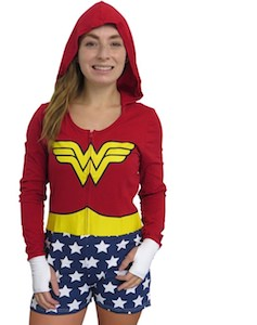 Wonder Woman Costume Romper