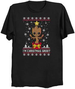 I'm Christmas Groot T-Shirt