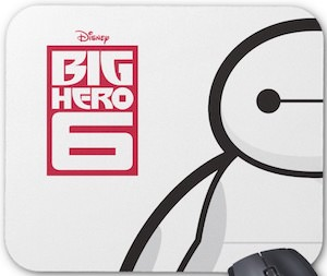 Baymax Big Hero 6 Mousepad