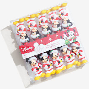 Christmas Mickey Mouse String Lights