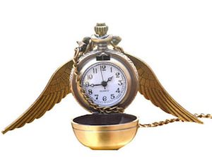 Golden Snitch Watch Necklace