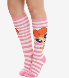 Powerpuff Girls Blossom Socks