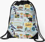 Gilmore Girls Stars Hollows Backpack