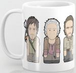 The Walking Dead Rick And The Gang Mug
