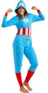 Captain America Onesie Pajama