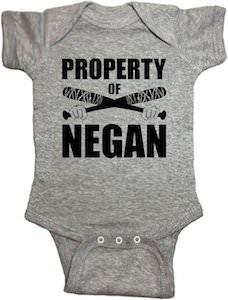 Baby Property Of Negan Bodysuit