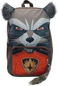 Rocket Raccoon Head Backpack