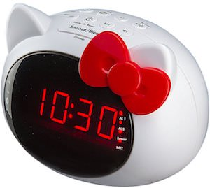 Hello Kitty Bluetooth Alarm Clock