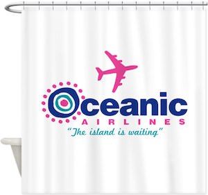 Oceanic Airlines Shower Curtain
