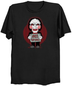SAW Free Tortures T-Shirt