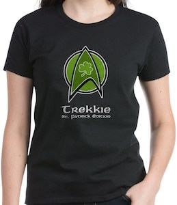 Star Trek St Patrick's Day T-Shirt