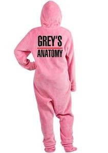 Grey's Anatomy Onesie Pajama