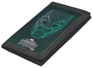 Mask Of Black Panther Wallet
