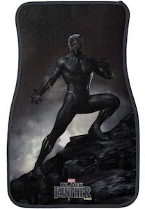 Black Panther Car Floor Mat