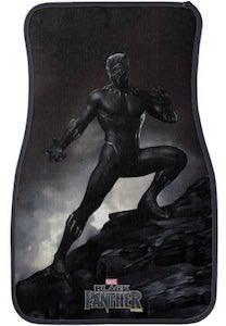 Black Panther Car Floor Mat