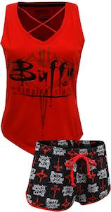 Buffy The Vampire Slayer Pajama Set