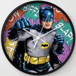 Fighting Batman Wall Clock