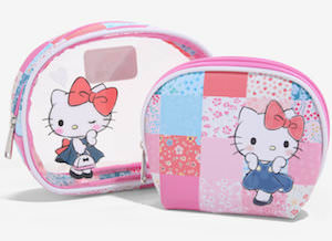 Hello Kitty Makeup Bag Set