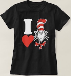 I Love The Cat In The Hat T-Shirt