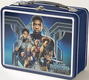 Metal Black Panther Lunch Box