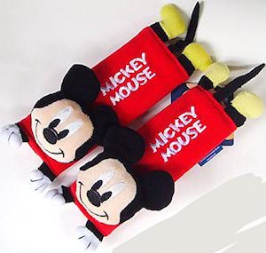 Mickey Mouse Seatbelt Protector