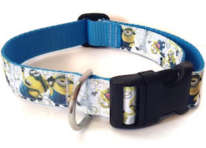 Despicable Me Minion Dog Collar