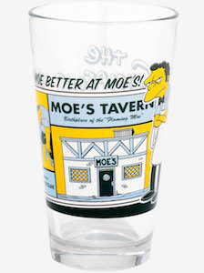 Moe's Tavern Pint Glass