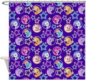 My Little Pony Friends Shower Curtain