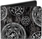 bi-fold Supernatural Symbols Wallet